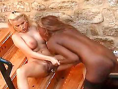 Gina wild, Pussy lick, Gina, Pussy&black, Pussy black, Licking black pussy