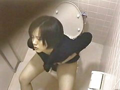 Asian, Toilet, Asian masturbate, Girl on girl, Toilet asian, Masturbate toilet
