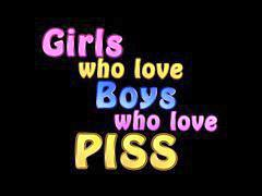 Kencing laki laki, Anak & cowok, Cowo cewe cowo, Gadis gadis bocah, Gadis-gadis bocah, Bocah anak perempuan
