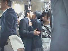 وا, فى الباص, يابانية تسير, يابانى ف الباص, وا م, مت ذو