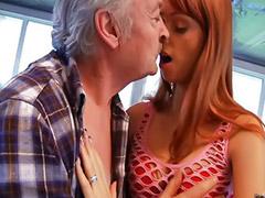 Old young, Grandpa fucks, Blowjob&fucking, Masturbate young, Vagina, Head shaving