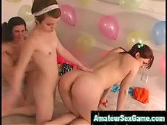 Lesbian play 5, Lesbians amateur, Lesbian party, Party amateur, Naked game, Play game