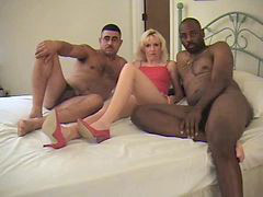 Interracial, Three somes, Three some n, Threes, Three d, Interracial three some