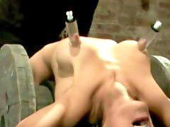 Bondage, Nipples, Nipple, Nippls, Nipple bondage, Nipple orgasm