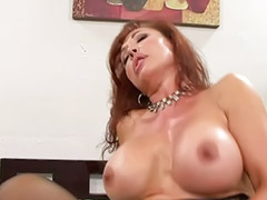 Stocking cum, Big tits sucks, Big cock blowjob, Big tit milf, Asian stockings, Head shaving