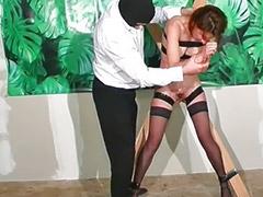 Mature redhead, Stocking mature, Redhead mature, Red stocking, Milf spanking, Mature spanked