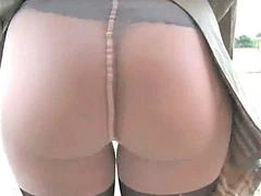 Milf pantyhose, Milf outdoor, Play sexi, Play in, Pantyhose playing, Pantyhose milf