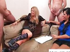Mens masturbating, Masturbasi big, Big mastrubasi, Bermain dengan ayam, 3 wanita, 4 perempuan