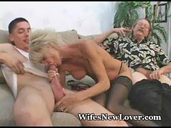 Milf, Young, Milf young, Old milf, Young pleasuring, Young milf