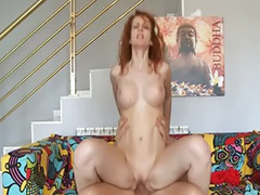 Milk tits, Head shaving, Big tits milk, Ass milk, Redhead blowjob, Milking tits