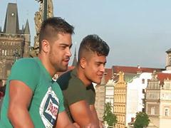 Stranger, Prague, Sin i, Násiné, Oče sin, Group sex cum