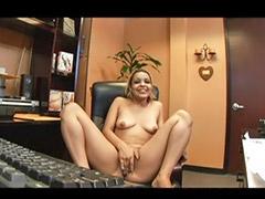Blowjobs office, Pov oral, Eyes cum, Her pov, Cum in her eyes, Sex office