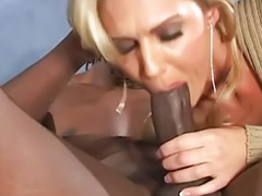 Ass lick, Interracial anal, Ass licking, Ashley, Big cock blowjob, Cock in pantyhose
