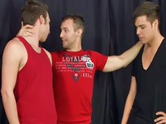 Damon, Big cock anal, Big cock blowjob, Gay blowjobs, Devon, Anal group