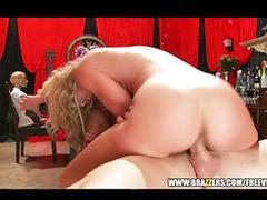 Blond milf, Toy sex, Blowjob&fucking, Rough blowjob, Sex toy, Asian toys