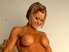 Muscle, Muscled, Nice boobs, Nices blondes, Nice boob, Muscle öl