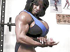 Muscle, Female, Muscled, Female muscle, Eboni, Bony