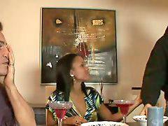 쉬, 테이블밑, 식탁, 발, 풋