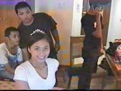 Adolecente real, Pareja de adolecentes, 2 parejas, Adolescente amador, Tailandesa, Tailandesas