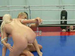 Wrestling, Oil, Ray, Oiled, Oil wrestling, X ray