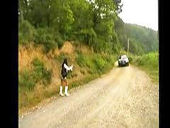 رجل مع رجل, واقعي, سيارات, ركوب, يارة جي, نكاح غريب