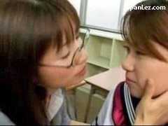 Spit, Girl kissing girl, Girl kiss, School girl with teacher, Teacher schoolgirl, Teacher her
