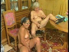 Amateur, Granny, 3 somes, Grannies, Grannys, Plug