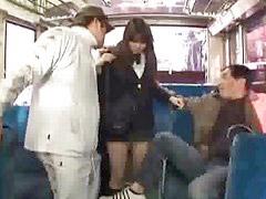 Bus, Schoolgirl gets fucked, Schoolgirl bus, Schoolgirl fuck, In the bus, Fuck in bus