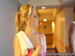 Julia ann, Gym, Cougar, Julia ann,, Anne, Stranger