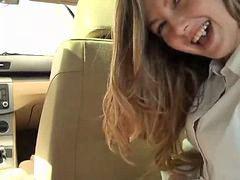 Siswi cantik, Mobil cantik, Di tiduri cewe, Di setubuhi cewe, D dalam mobil, Gadis di setubuhi