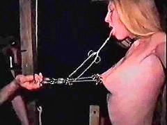 노예체벌, 처벌노예, 여노예체벌, 벌받는 중