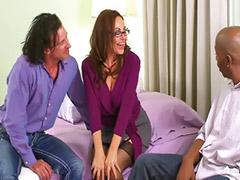 Lapdancer, Lapdance, Asshole, Threesome matures, Threesome mature, Mature threesomes