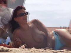 Increible, Topless playas, Morenas, Francesas, Playas, Francesa