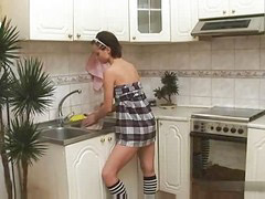 S88, Alina, In anal, Anal kitchen, Çin anal, Anal in kitchen