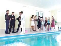 المسابح, سكس حمام سباحه, مسبح, السباحة, حمام سباحه, حفلة جنسية