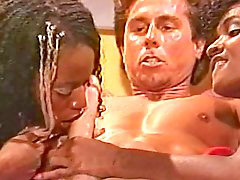 Peter north, Peter-north, Black angel, Black chic, Angels threesome, Angel black