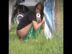 Pee, Peeing, Outdoor, Outdoor peeing, Pee pee, Pee babes