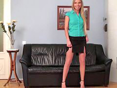 Very cute, Very blonde, Very-cute, Teasing blonde, Pantyhose tease, Pantyhose blonde