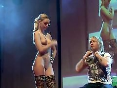 With fan, Public stage, Public plays, Public hot, Public blonde, Stage play