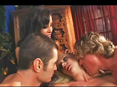 Double anal, Cum filled, Big anal threesome, Asian threesomes, Double penetration asian, Pornstars anal