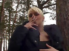 Smoking blondes, Smoking boobs, Smoke blonde, Double pov, Double blonde, Double blond