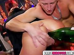 Bottle, Asshole, Bottles, In ass, In her, Bottleç