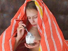Ordeñando leche, Leche, Ordeño, Ordeñe, Joven