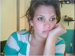 Niñas w cam, Niña w cam, Jovencitas en web cam, 18yo, Medias, 18y