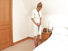 Masturbates bed, Mature masturbation, Mature masturbating, Spreading, Mature toy, Mature toying