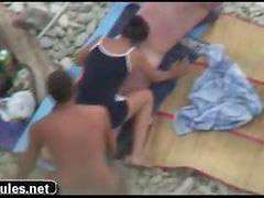 Beach sex, Threesome amateur, Sex beach, Beach amateur, Threesome amateurs, Teens beach