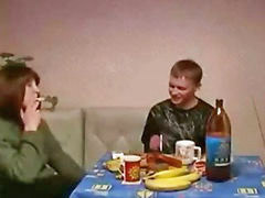 Mom son, Mom and son, Russian mature, Russian mom