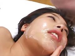 Japanese, Japanese facial, Sloppy, Asian bukkake, Model asian, Sloppy sex