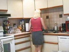 Enculada en la cocina, Cojiendo e n la cocina, Follando cocina