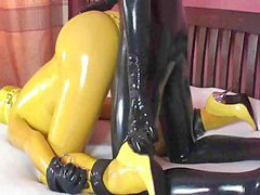 Yellows, Gagging, Yellow, Gags, Gagged, Gag - choke - spit